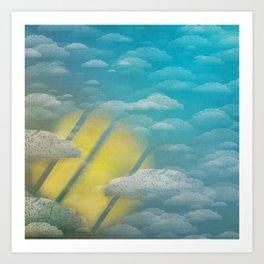 Ode to Summer Nights (Version 2) Art Print