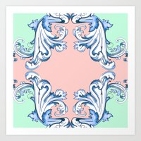 baroque Art Prints featuring Baroque by Charlotte Goodman