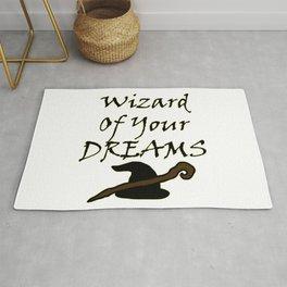 Wizard Of Your Dreams (Black) Rug