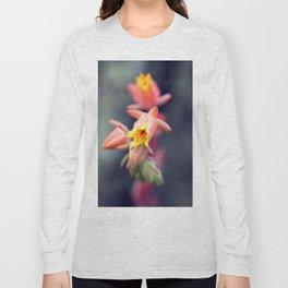 Echeveria Runyonii Habitus Inflorescences Long Sleeve T-shirt
