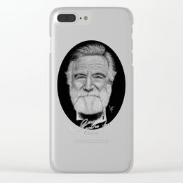 Robin Williams Clear iPhone Case