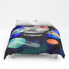 spaced out. Comforters