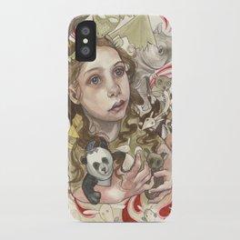 Animal Hugs iPhone Case