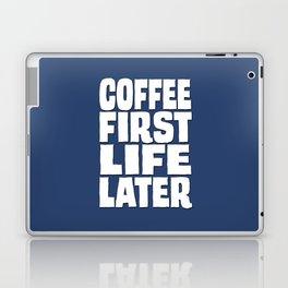Coffee First Laptop & iPad Skin