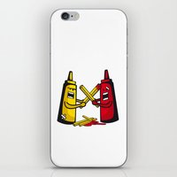 fries iPhone & iPod Skins featuring Fries wars by pludadesign