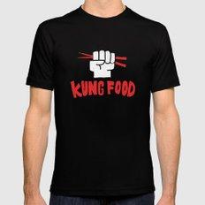 KUNG FOOD MEDIUM Mens Fitted Tee Black