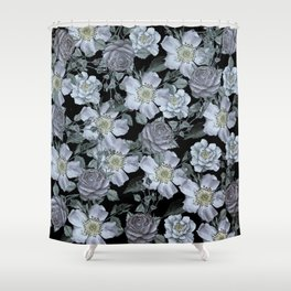 Roses at Night Shower Curtain
