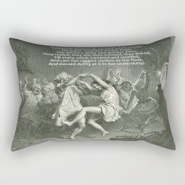 Tam O'Shanter Burns Night Celebrations Rectangular Pillow
