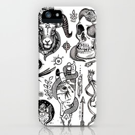 Lesser Alchemy iPhone Case