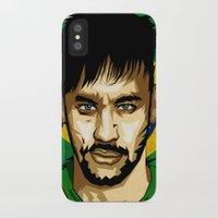 neymar iPhone & iPod Cases featuring Neymar Junior by King Arnanda