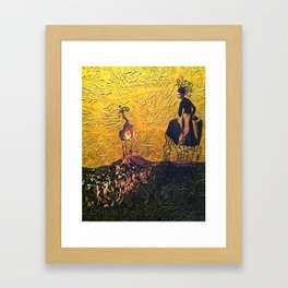 Rhizophora Framed Art Print