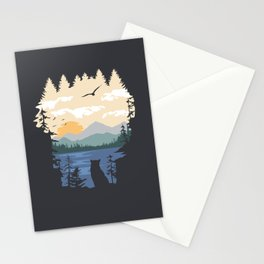 Mountain Lion Wilderness Stationery Cards
