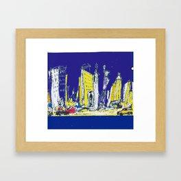 NEW YORK    by Kay Lipton Framed Art Print