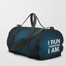 I RUN THEREFORE I AM Duffle Bag