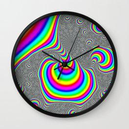 Rainbow Trip Wall Clock