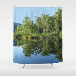 Crystal Clear Lake Killarney Shower Curtain