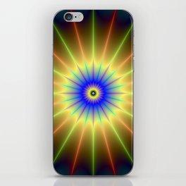 Radient Star iPhone Skin