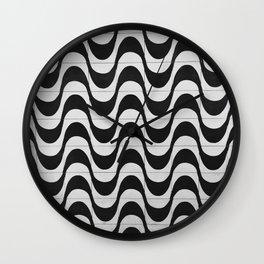 Rio Tile Pattern Wall Clock