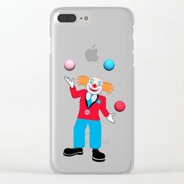 Fun Fair Clear iPhone Case