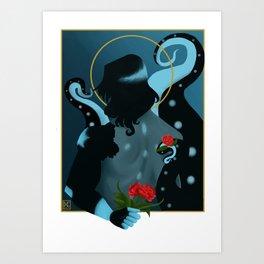 Love Confession Art Print