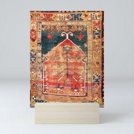 Konya Central Anatolian Niche Rug Print Mini Art Print