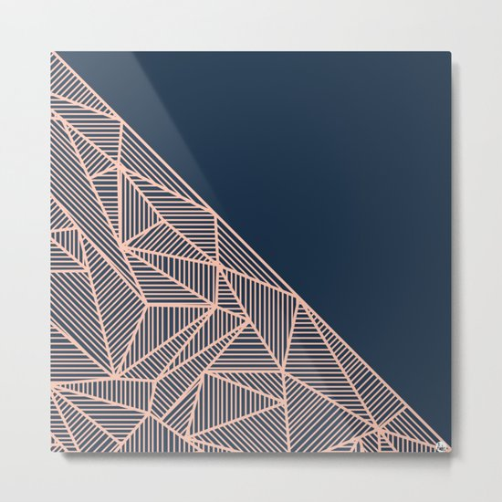 B Rays Geo 1 Metal Print