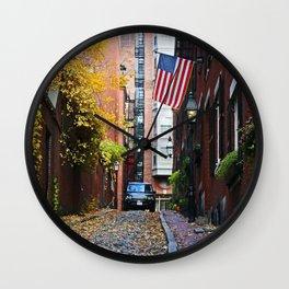 Acorn street Wall Clock