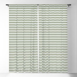 Green stripes seamless pattern, from the Orange Blossom Pattern Collection Blackout Curtain