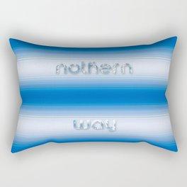 Nothern way Rectangular Pillow