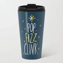 POP FIZZ CLINK CHRISTMAS Travel Mug