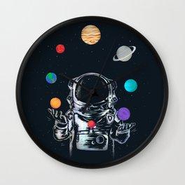 Space Circus Wall Clock