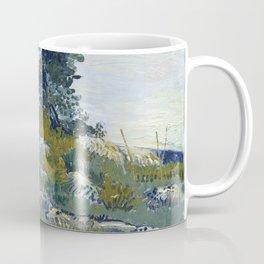 Vincent Van Gogh - Rocks with Oak Tree Coffee Mug