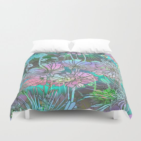 Spring Meadow Pattern Duvet Cover