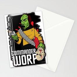 ZOMBIE WORF Stationery Cards