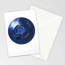 Through Time and Space Stationery Cards