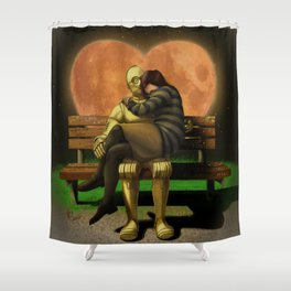 Love knows no Boundaries Shower Curtain