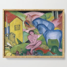 Franz Marc, The Dream Serving Tray