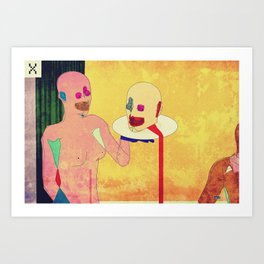 Salome's Transgression Art Print