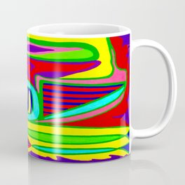Abstract flower and shapes Coffee Mug