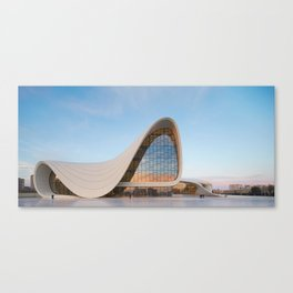 Zaha H A D I D | architect | Heydar Aliyev Center Canvas Print