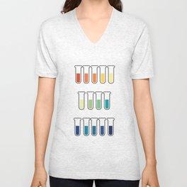 pH Indicators Unisex V-Neck