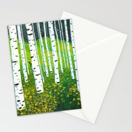 Mountain Meadow Stationery Cards