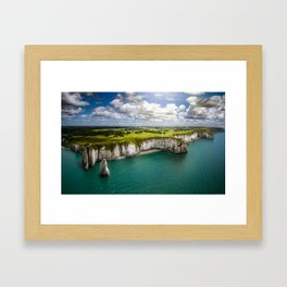 Colosssal world Framed Art Print