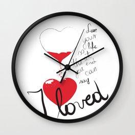 Loved Wall Clock
