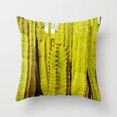E. canariensis Throw Pillow