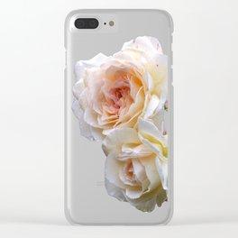 Briar Roses Clear iPhone Case