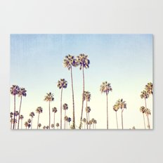 LA Palms Canvas Print