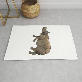Indian Rhinoceros Rug