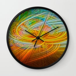 amor twirls Wall Clock