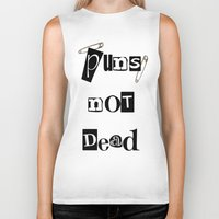 pun Biker Tanks featuring Pun by ronnie mcneil